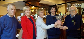 Monica O'Rourke trophy winners