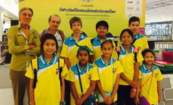 A coach, a dad and two Samui Teams