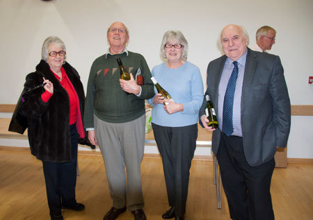 Runners up Brian and Valerie Barrett Peter Ison and Jane Aylett