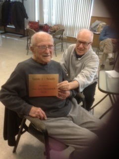 CELEBRATING JOE'S 100th BIRTHDAY