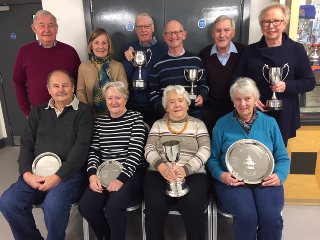 CONGRATULATIONS TO THE  ANNUAL TROPHY WINNERS