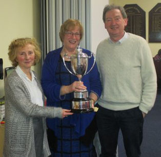 Anne Bergin Tom OConnor Winners Weldon Cup