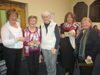 Margaret Kelly Moira Collins Gertrude Connolly Mary Mulvey 2nd tie O Boyle Trophy