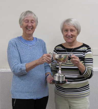 Winners ladies' pairs competition 2018