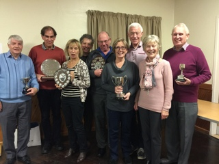 Prize Giving at the 2017 AGM