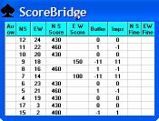 ScoreBridge Scoring Software