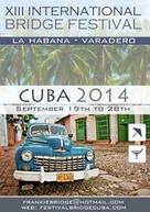 XIII International Cuban Bridge Festival