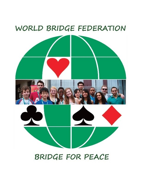 WBF Bridge World Peace Logo