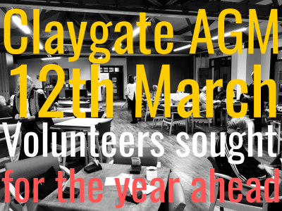 Would you like to help out at Claygate?