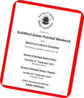 SCBA Green Point Weekend in Guildford: 23rd-24th September