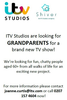 ITV is on the look-out for friendly grandparents