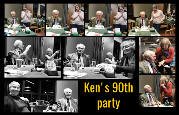 Many thanks for the party, Ken