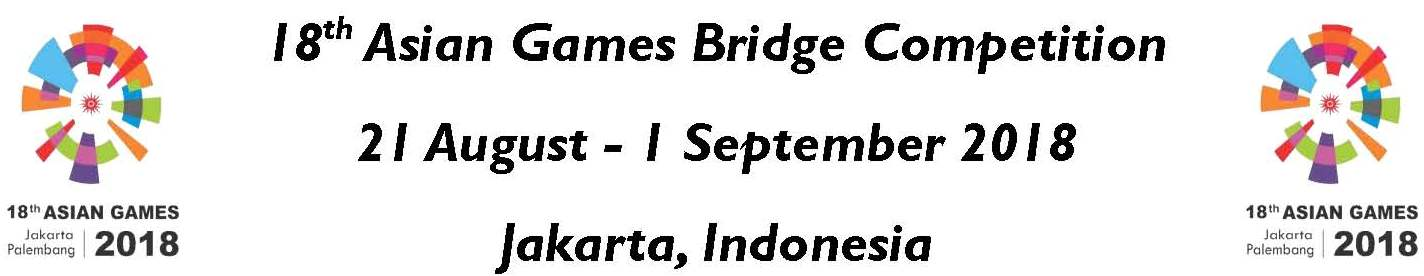 18th Asian Games Bridge Competition