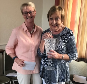 Anne Lonergan & Pat Johnston Club Pairs Winners 2019