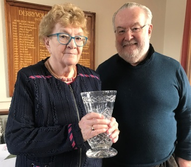 Maura & Noel McGaughey Thursday Club Pairs Winners