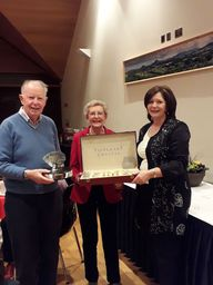 Presidents Prize Competition was played Friday 26th January - Congratulations to Tom and Catherine O'Sullivan being presented with their prize by our lovely President Clair!