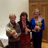 Centenary Trophy 2016 Winners Nora Conway & Peg Rayel
