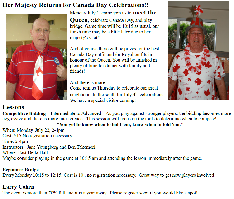 Canada Day at DuplicateLite