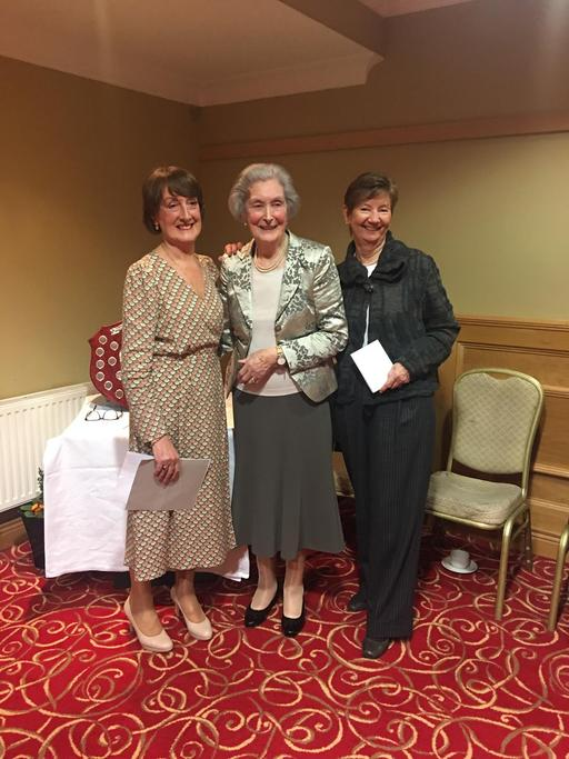 Halogue Malone 3rd place Freeman Trophy Competition with Anne Freeman and Sally Egan