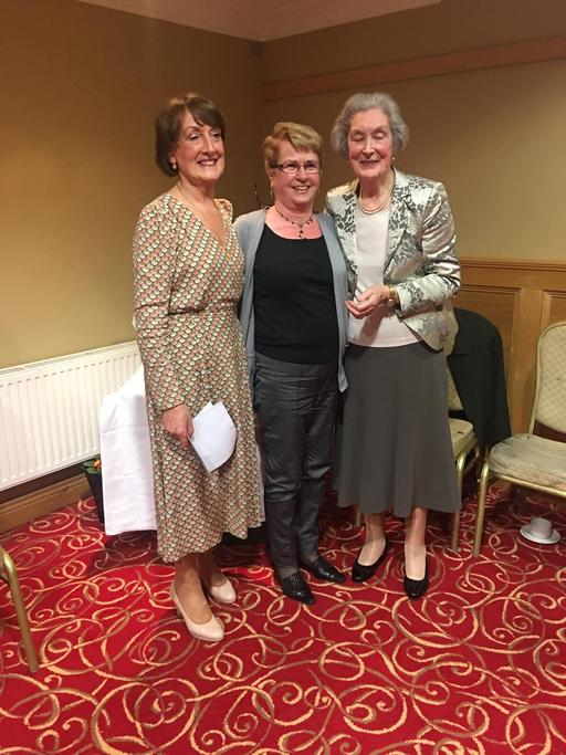 Nora Kennedy 5th place Freeman Trophy Competition with Anne Freeman and Sally Egan