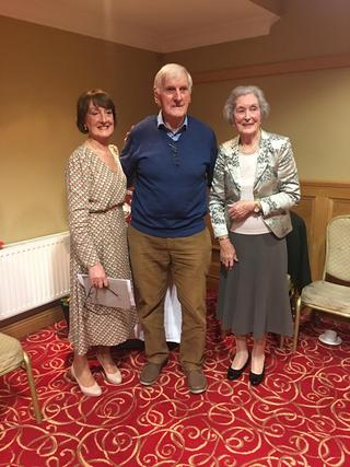Walter Doherty 4th place Freeman Trophy Competition with Anne Freeman and Sally Egan