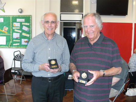 Club Pairs Winners - June 2013