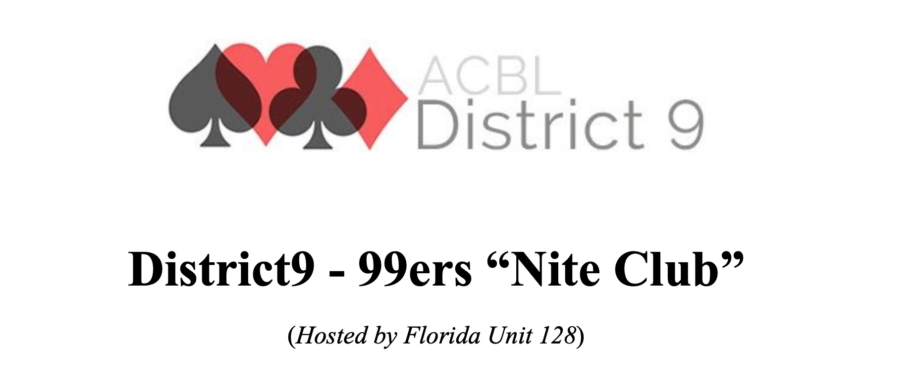 District 9 99er's Nite Club