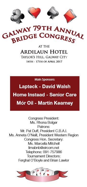 Galway Congress 2017 - Official Programme