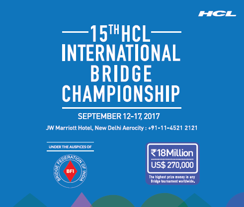 Welcome to HCL International Bridge Championship