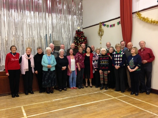 Brinsley BC Christmas Party