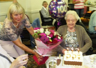 Mamie's 100th Birthday