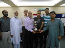 20th Aslam Memorial Bridge Tournament Winners