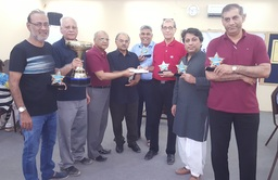 23rd Aslam Memorial Bridge Tournament Winner