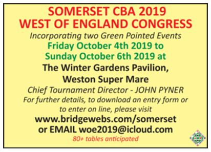 SCBA West of England Congress 2019