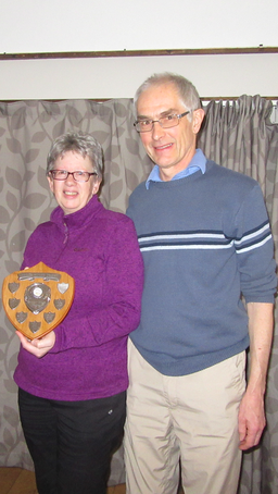 Well done to Steve and Gill Terry, winners of the Arrita Shield