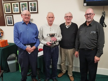 Charlie Higgins Trophy Winners - 17th October 2018