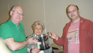 Championship Pairs C Final Winners - Chris Smith & John Councer