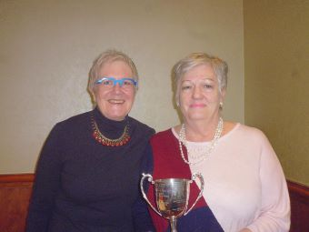 NEBA Congress Ladies Pairs winners Liz Muir  and Liz Reese