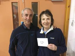 Derek and Celia Oram win 2017 One Day Green Point Swiss Pairs