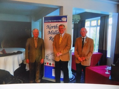 Ultan McCabe, Paul Porteous and Joe Casey President of North Midland Region 2015/2016