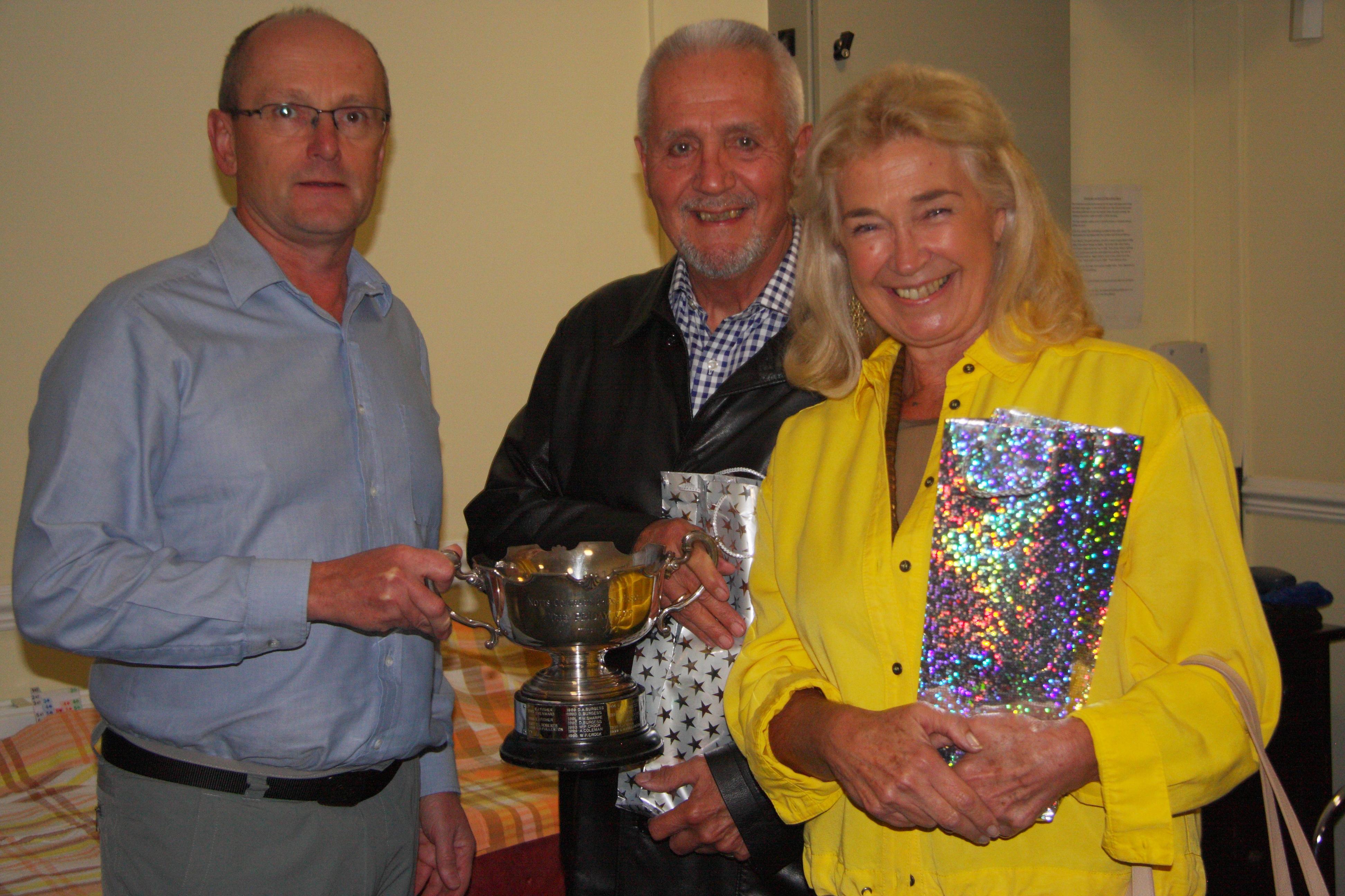 Keith, Bernard and Liz