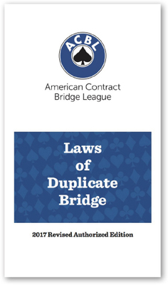 Commentary on the Laws of Duplicate Bridge