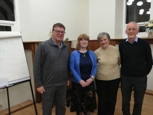 Visit from Liz McGowan and Fiona McQuaker