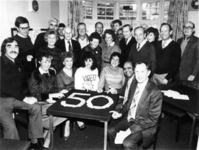 1986 - The 50th Anniversary of the Club