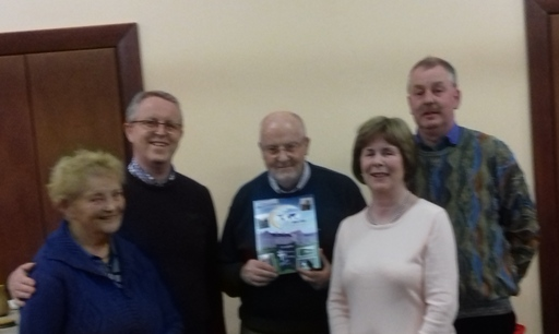 Presentation to Columban Missionary on the occasion of their Centenary from Members of Royal Tara Bridge Club
