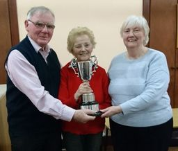 Mary Murphy with Championship Pairs 2018