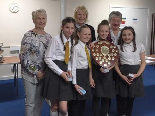 Grange Pupils Receive Prize