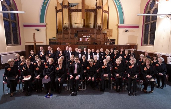 Shifnal Chorale in April 2019