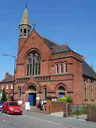 Trinity Methodist Church, Shifnal, Venue for rehearsals of Shifnal Chorale Choir