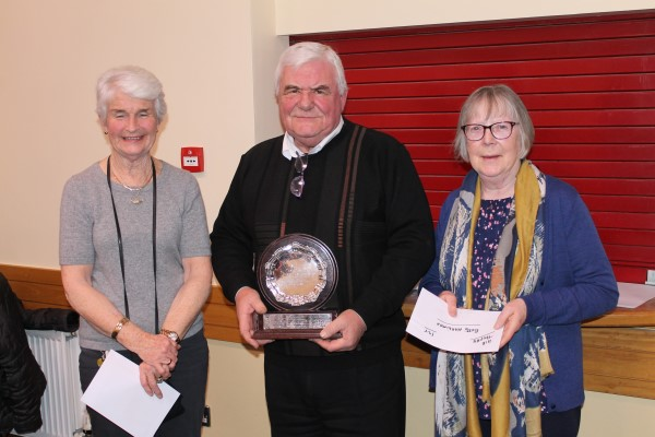 1st AIB Trophy Ita Newell and Betty Hardiman
